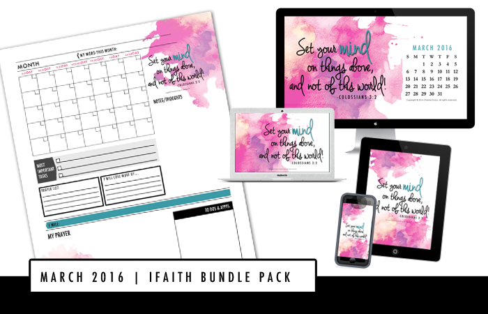 IFAITH BUNDLE PACK BY CHAMEL EVANS | EXPRESS YOUR FAITH IN THE EVERYDAY AND BE REMINDED OF GOD'S TRUTH FOR YOUR FAITHJOURNEY | WWW.CHAMELEVANS.COM