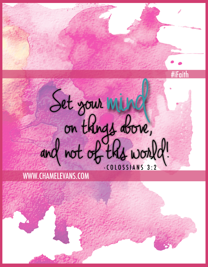 Be reminded of God's truth with Free iPhone wallpapers by Chamel Evans |www.chamelevans.com