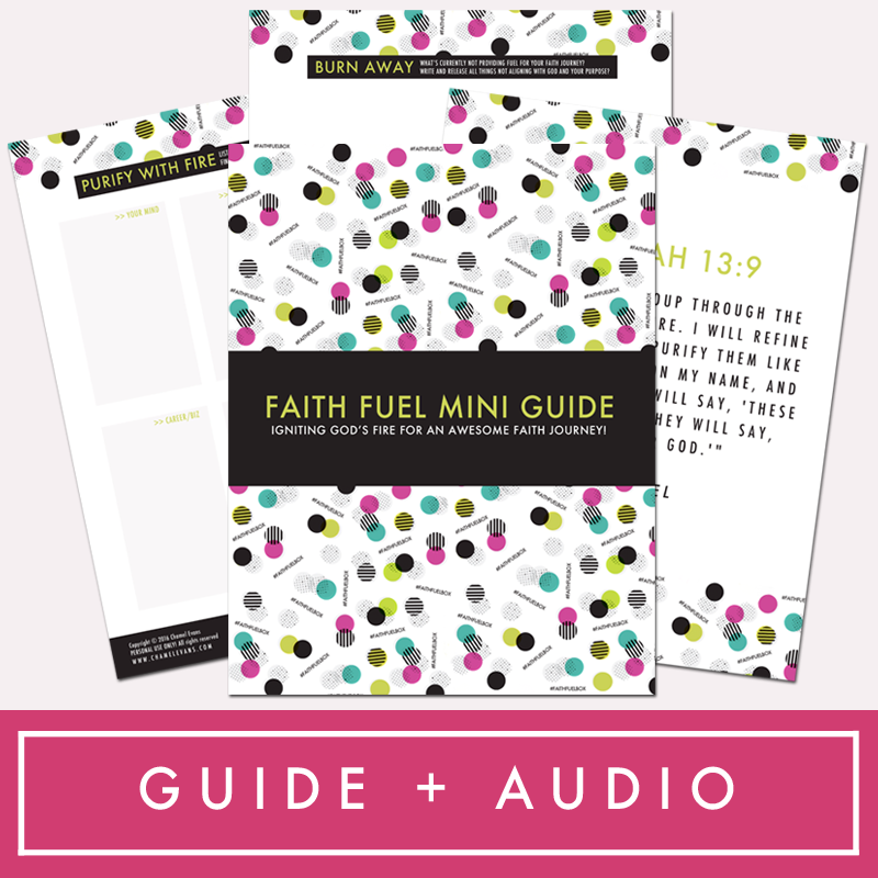 Free resources to grow in your faith journey | www.chamelevans.com