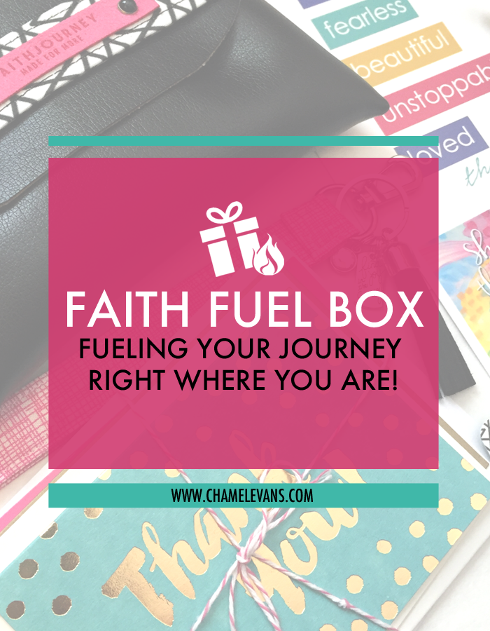 A BI-MONTHLY ENCOURAGING GIFT BOX FILLED WITH CHRISTIAN AND INSPIRATIONAL HANDMADE/HANDPICKED PRODUCTS AND SURPRISES by Chamel Evans | www.chamelevans.com