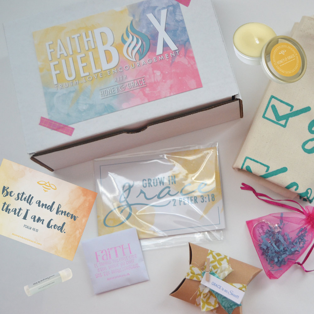 June's Faith Fuel Box with Honey & Grace