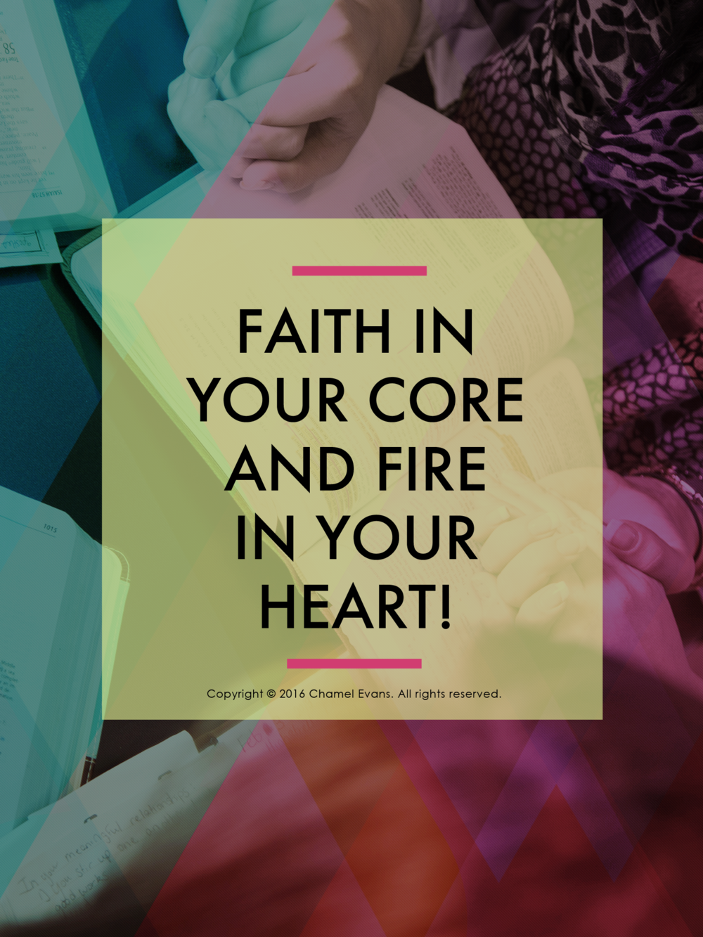 Exclusive iFaith bundle pack for #faithjourney community VIPs | www.chamelevans.com