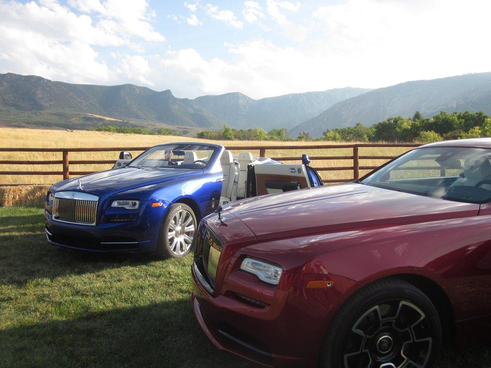 Rolls Royce in Sheridan