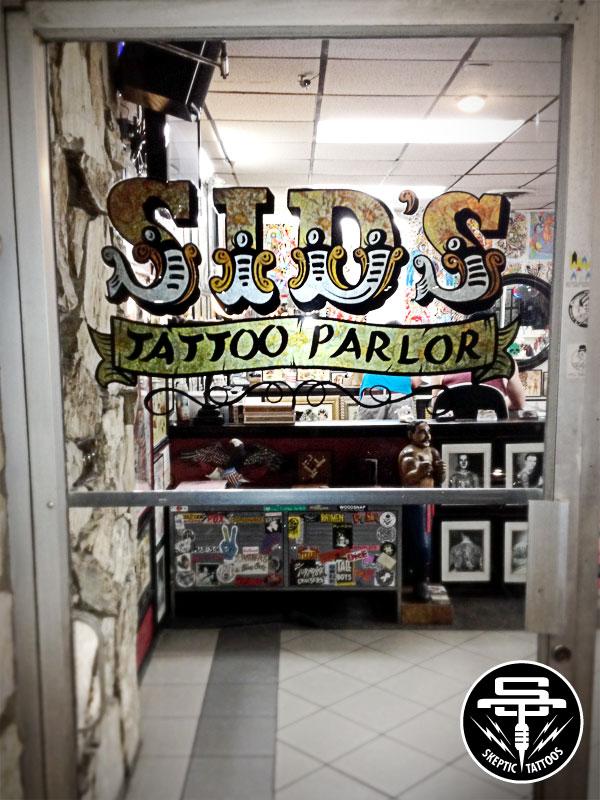 Sid's Tattoo Parlor, Santa Ana, CA.