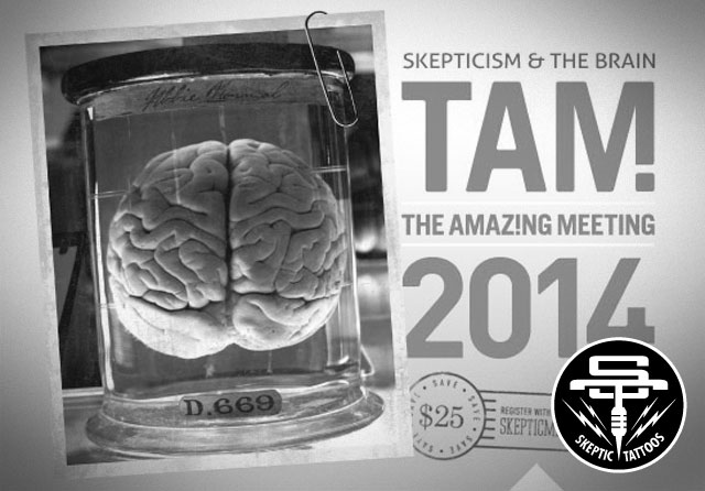The Amaz!ng Meeting 2014,  Skepticism & the Brain