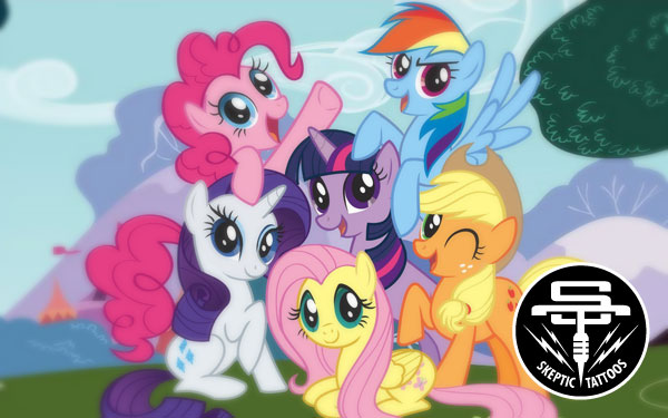 My Little Pony is a bright, shimmering, bedazzled franchise.