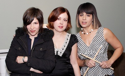 Sleater-Kinney at SXSW in 2006.