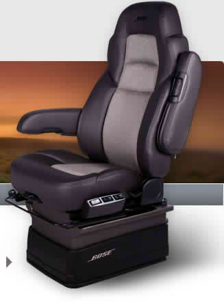 Yes, this is real. Bose has been researching their noise cancelation technology in 18 wheeler truck seats for over 10 years now.