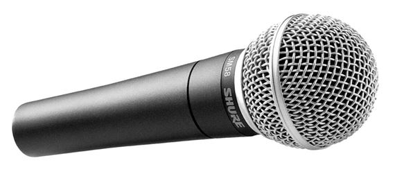The most popular mic on this planet is a dynamic microphone