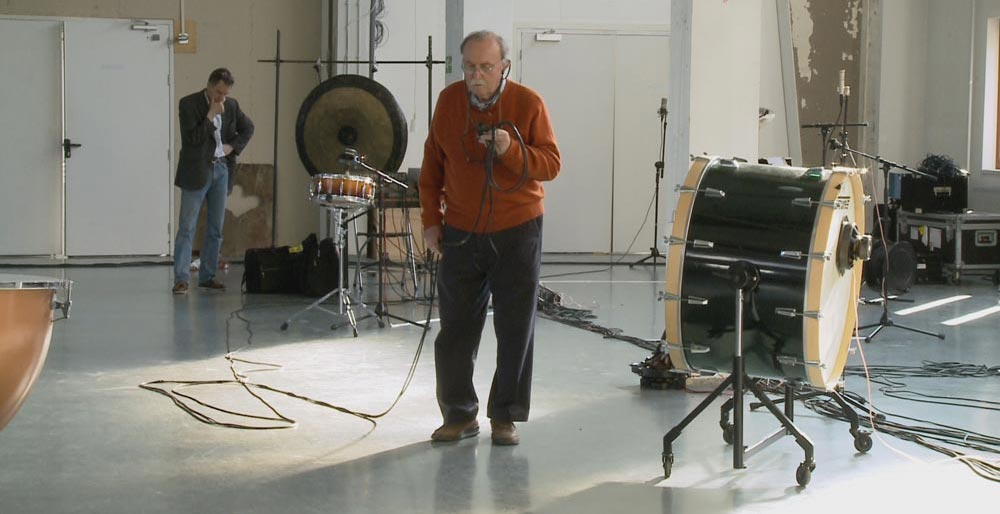 "A still from Viola Rusche & Hauke Harder's film ""No Ideas But In Things: The Composer Alvin Lucier"