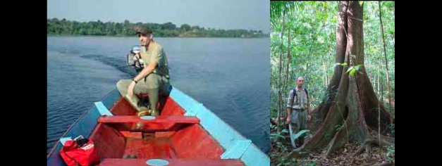 Francisco López at the 'Mamori Sound Project' he directed in the Brazilian Amazon between 2005 and 2011