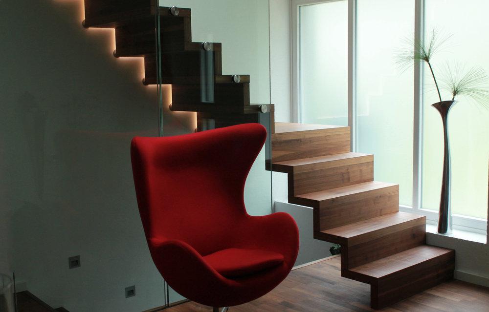 Elegant Faltwerktreppe Von ISLER Treppen