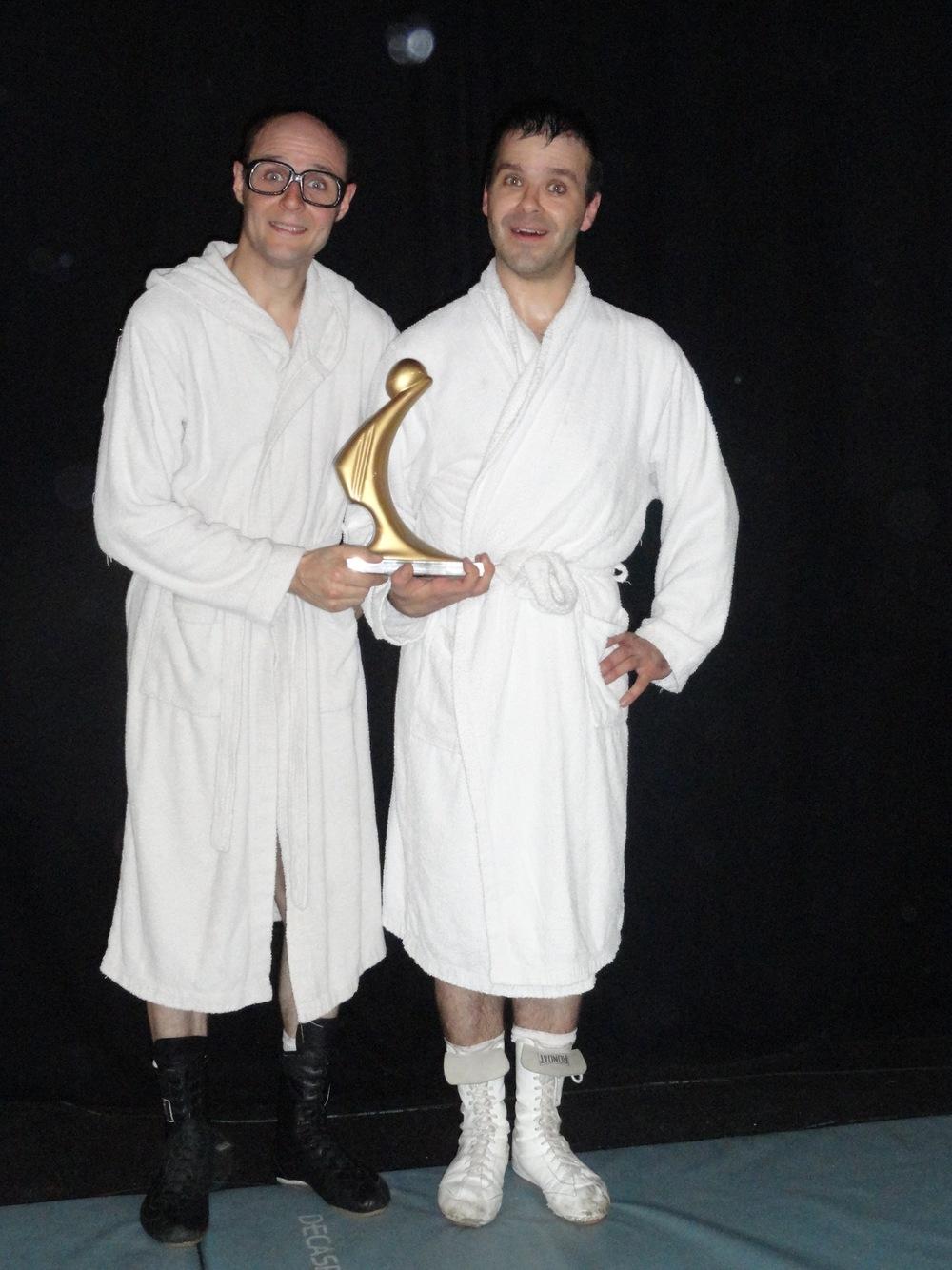 Xavier et Benoît