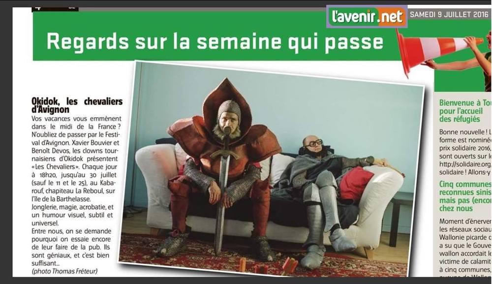 Okidok - Xavier Bouvier & Benoît Devos