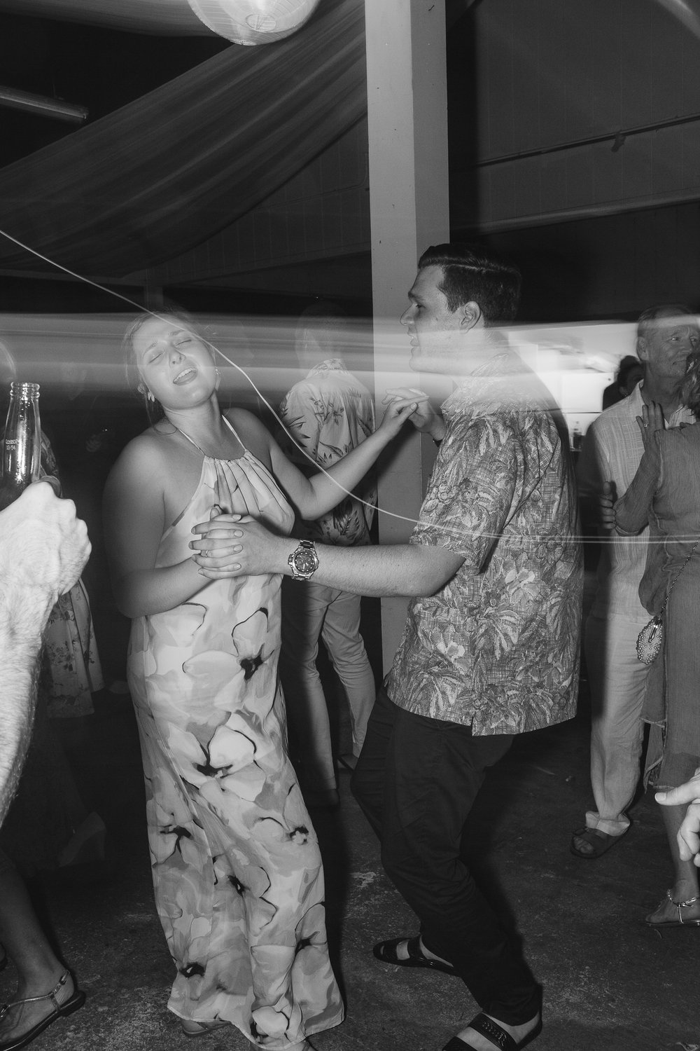 I'm sure one of Lucy's most memorable moments of her wedding was seeing everyone have such an amazing time on the dance floor.