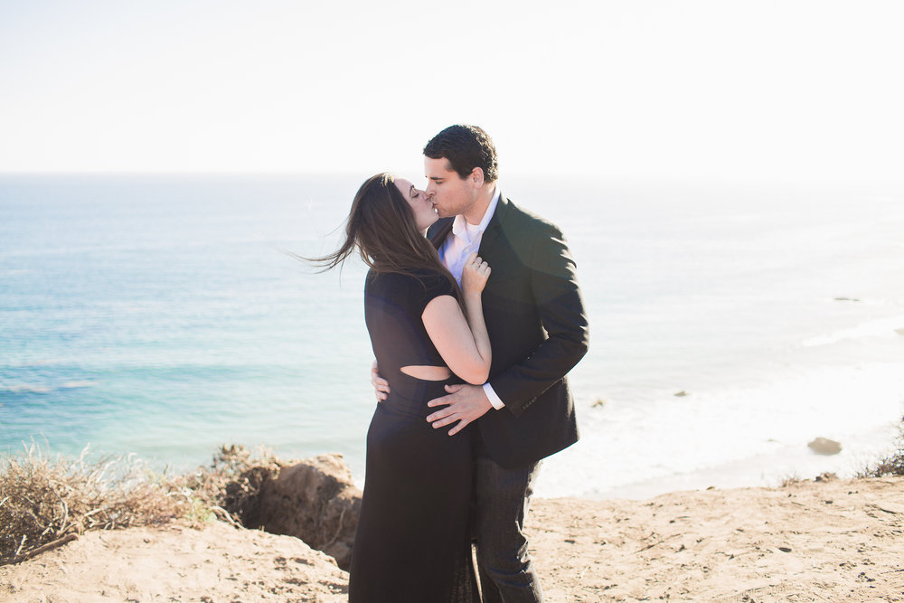 Rosi + Daniel's engagement shoot at El Matador.  You can never go wrong at this spot!
