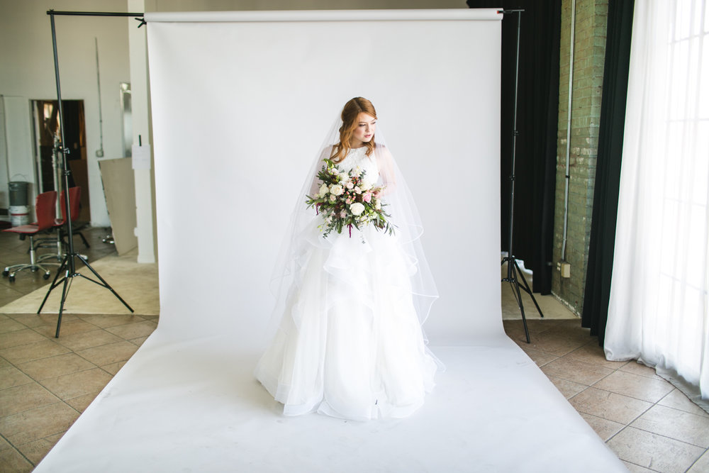 We also spent a few hours taking catalogue photos for Vene Ai's wedding dresses.  I loved all the dresses but Alexandrea wore this one like it was meant for her--SO perfect!!