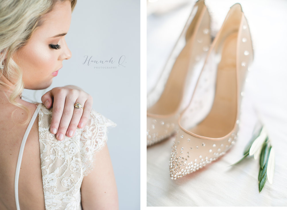 This vintage ring matched Vene Ai's dresses perfectly.  And these shoesssssss  (drooool).