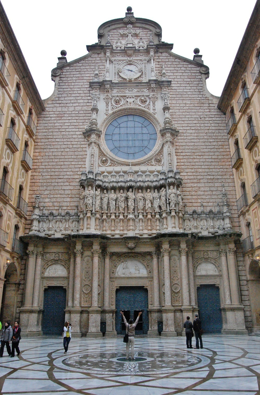 Again, not my photo but here is the entrance to the Catholic Basilica where the Choir Boys were to perform.