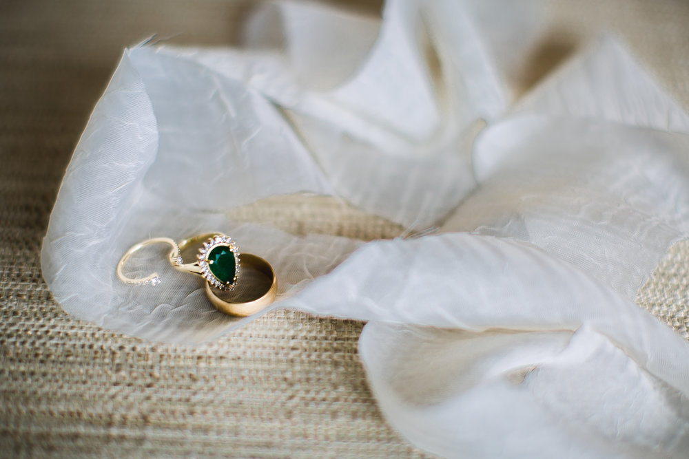How beautiful is Jessica's emerald ring??