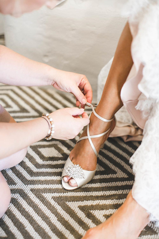 luxury bridal shoes