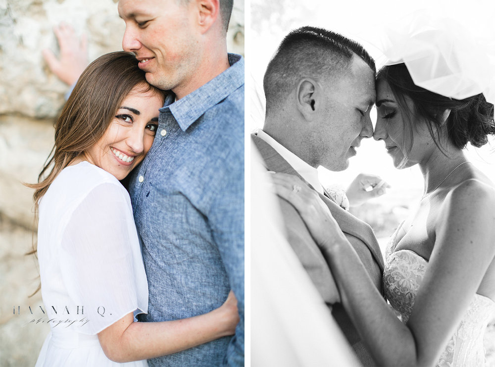 Another couple that chose me to take their engagement photos followed by their wedding photos. Best feeling ever!