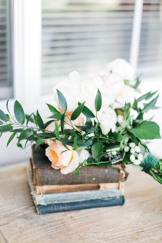 bridal party details diy bouquet