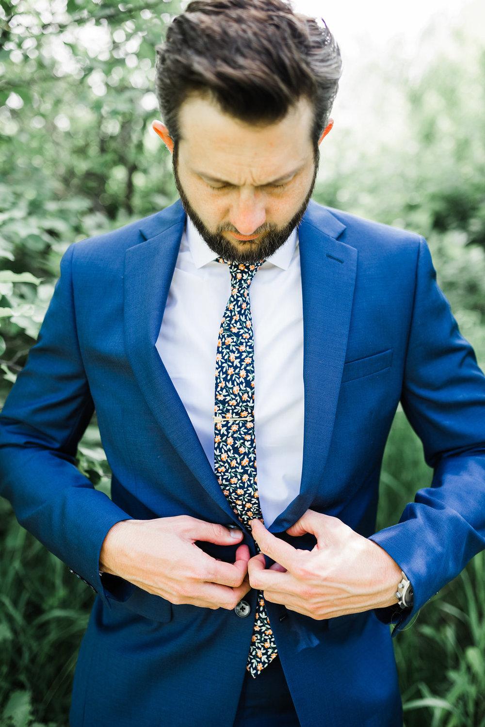 Calvin Klein Groom suit
