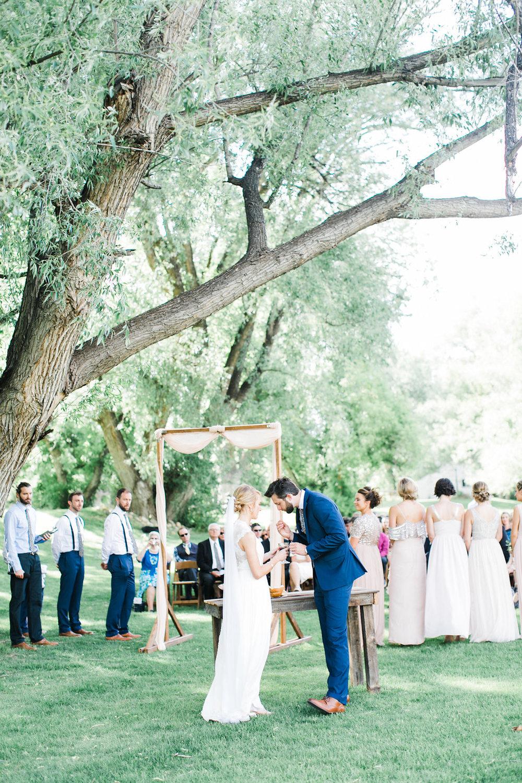 colorado mountain wedding ceremony photography