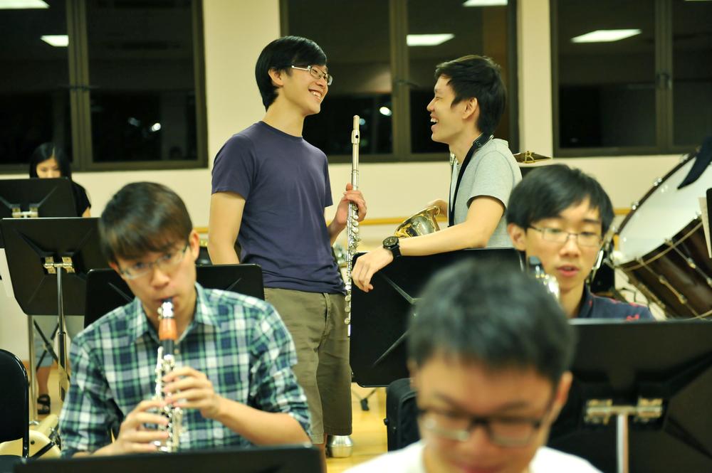 (From left) Jessie Chua, Benjamin Wong (seated), Daniel Lim, Jason Tan, Jeremy Wong (seated, foreground), David Kwek.