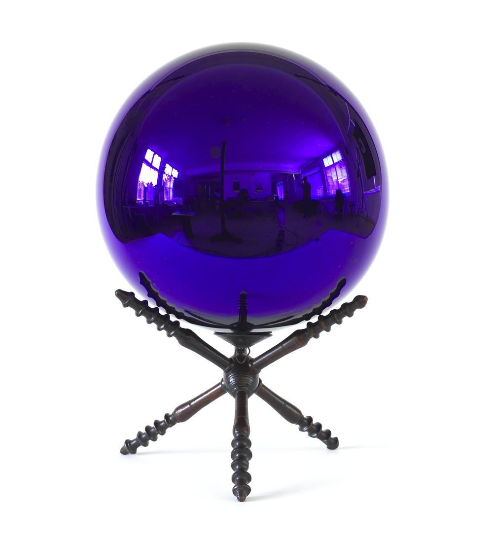Witches Ball on Stand