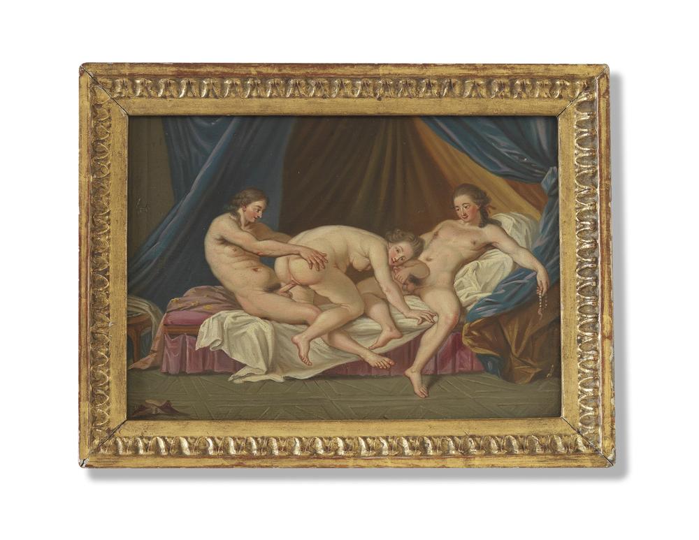 Ménage à Trois painting