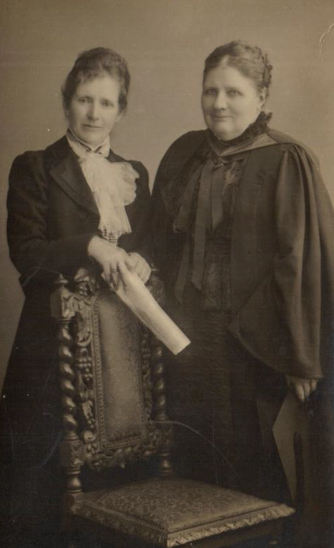 Dames Agnes Weston and Sophia Wintz