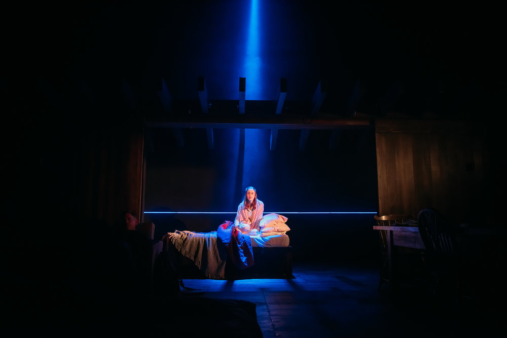 Grain In The Blood Simon Wilkinson Lighting Design