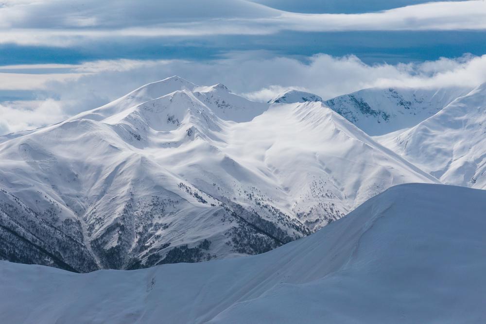 Kaukaz sa nám ukázal v plnej kráse.
