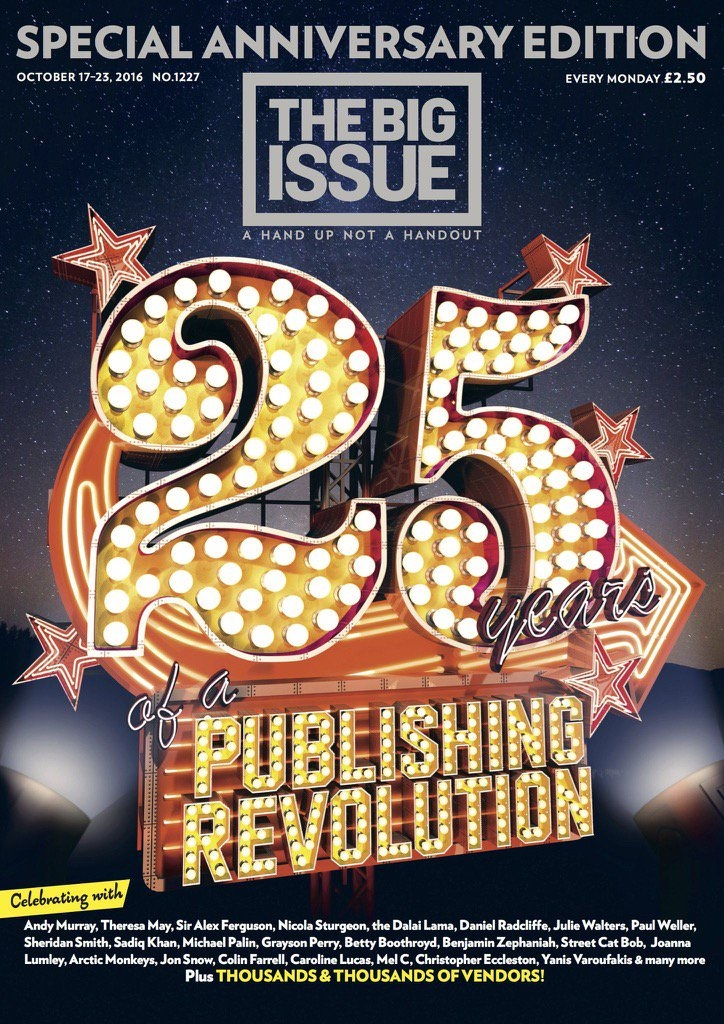 big issue at 25