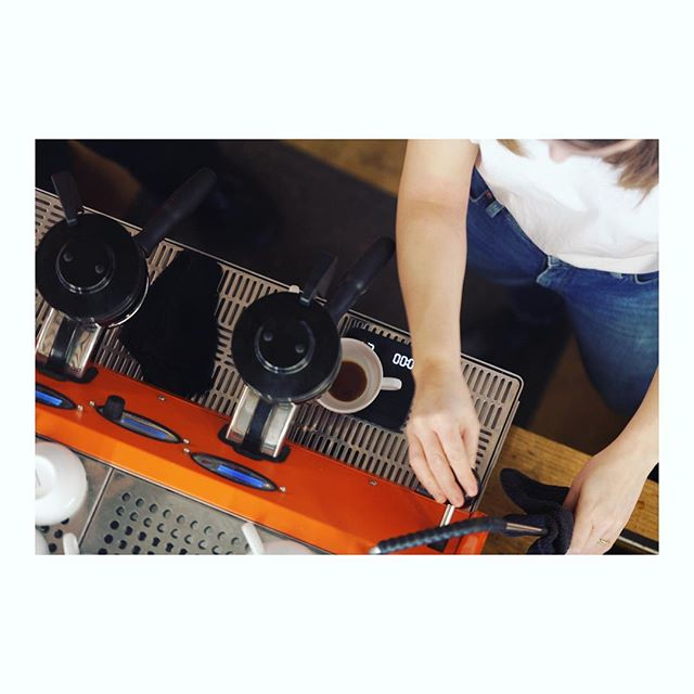 Saturday is here - we are pulling shots and serving you coffee until 19.00. Have a nice day!☕️☕️☀️☀️ . . . . . . . . . . .  #barista#coffeeshop#sprudge#manualbrew#coffeetime#manualbrewonly#lamarzocco#strada#specialtycoffee#artisanbarista#espresso##espressotime#thirdvawecoffee#coffeeroasters#coffeeculture#coffee#coffeetime#kokkostavanger#coffeegram#coffeepicsofinstagram