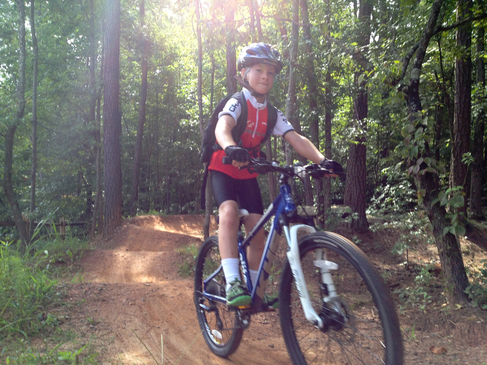 Kids of all ages have a great time on the pumptracks and XC trails