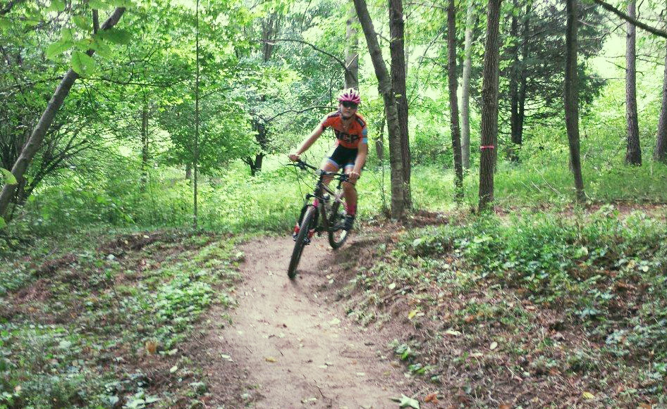 Haw Creek is ideal for riders of varying levels, and it's perfect for those mid-week, afternoon workouts due to its dense canopy.