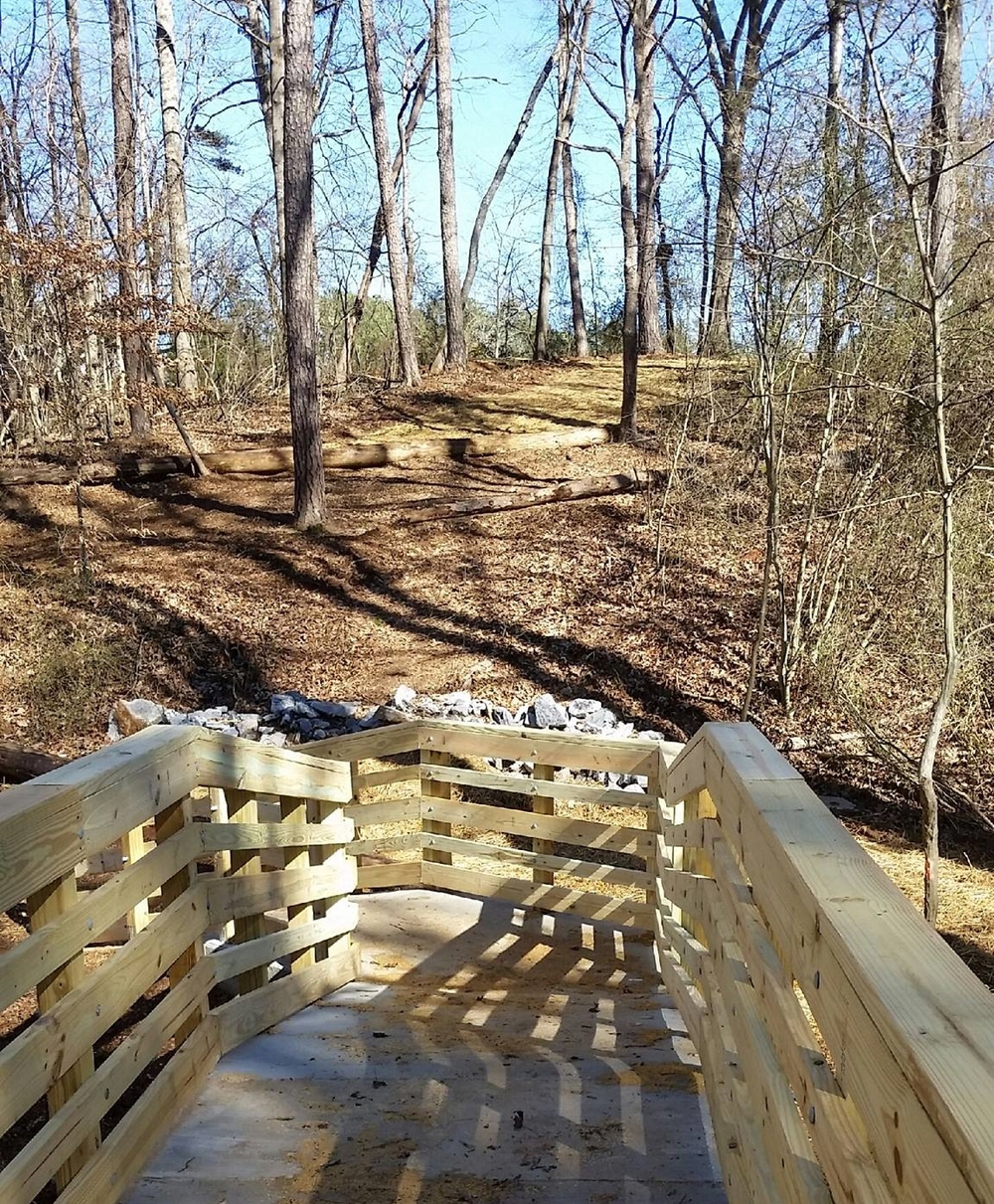 The NEW BRIDGE LEADS TO NEW TRAILS