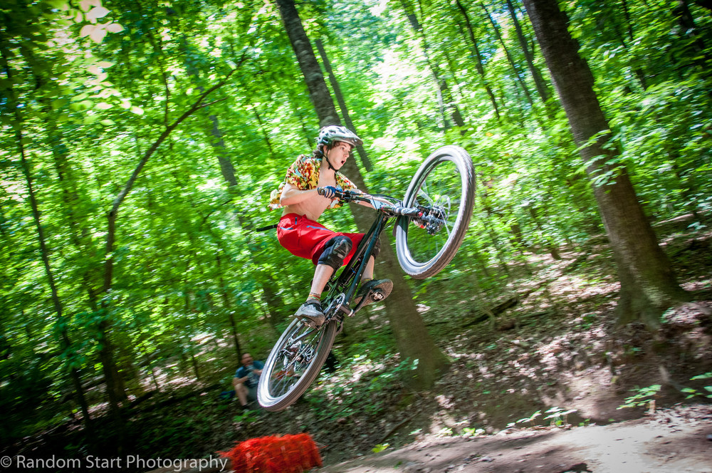 River Key's new Hawaiian Enduro style - Photo: Random Start Photography