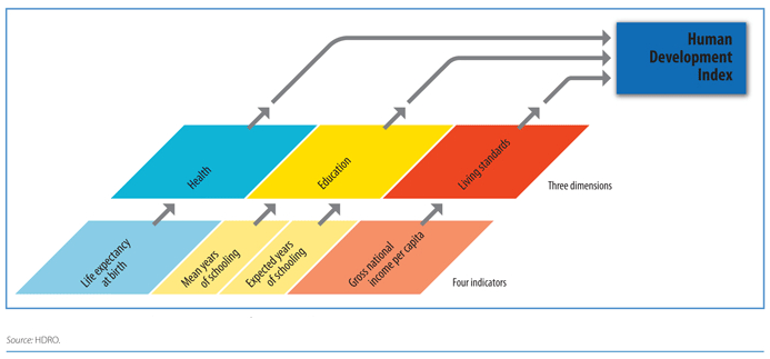 Components of the Human Development Index