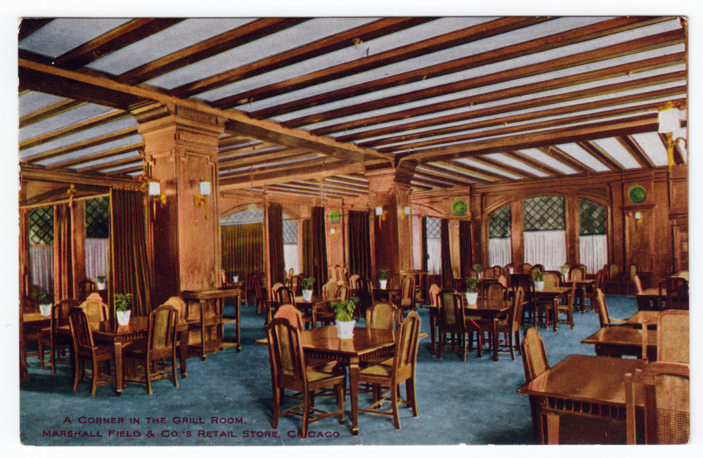 Marshall Field dining room, Chicago