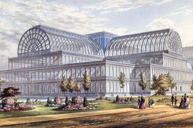 Crystal Palace exterior, London 1851