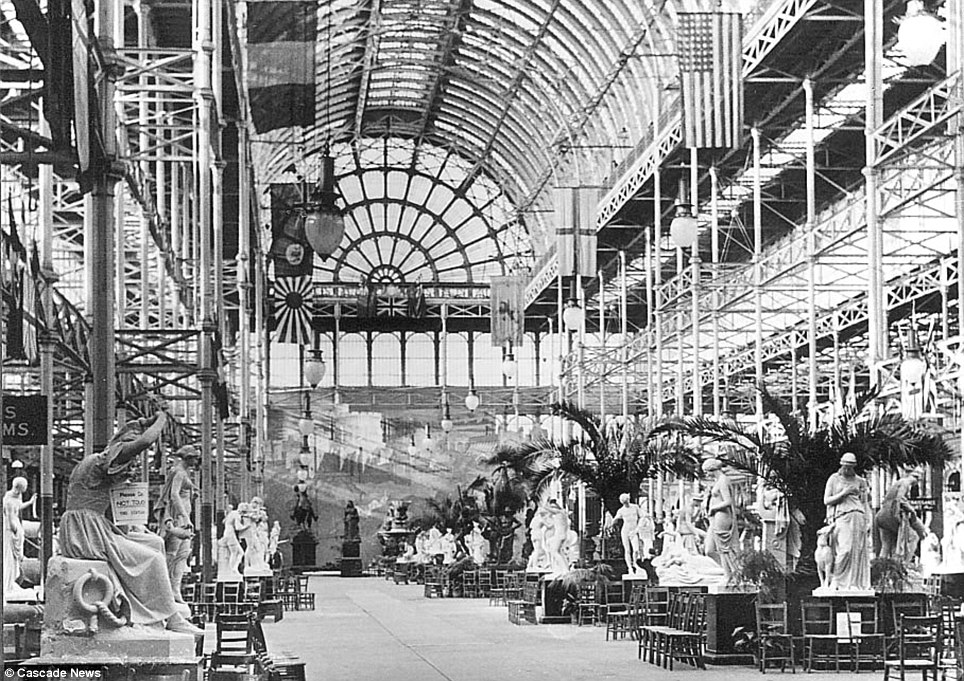 Crystal Palace interior, London 1851