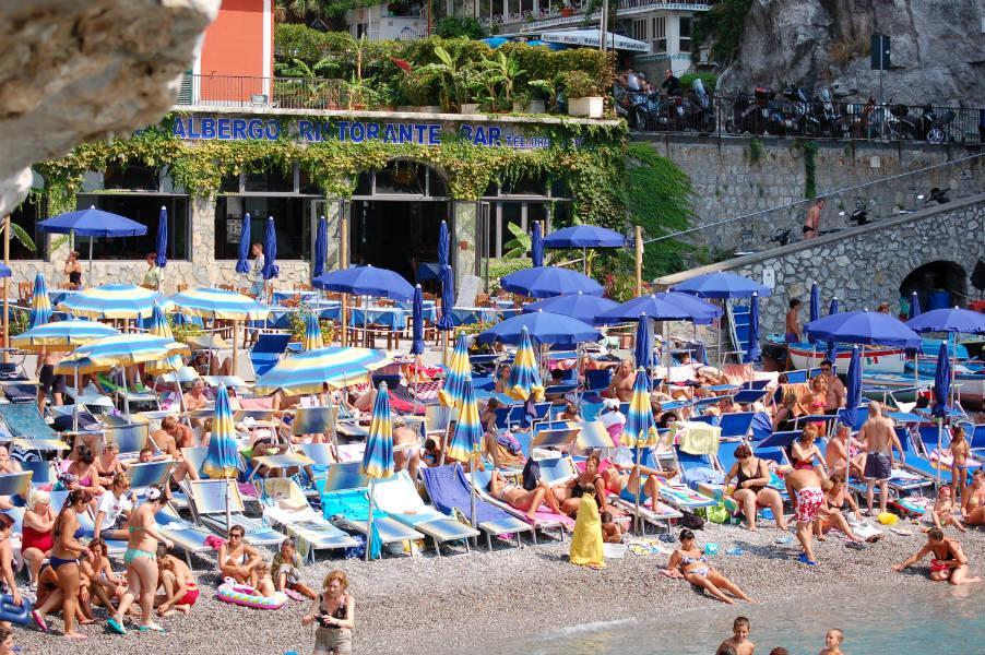 Vietri sul Mare, Hotel Beach