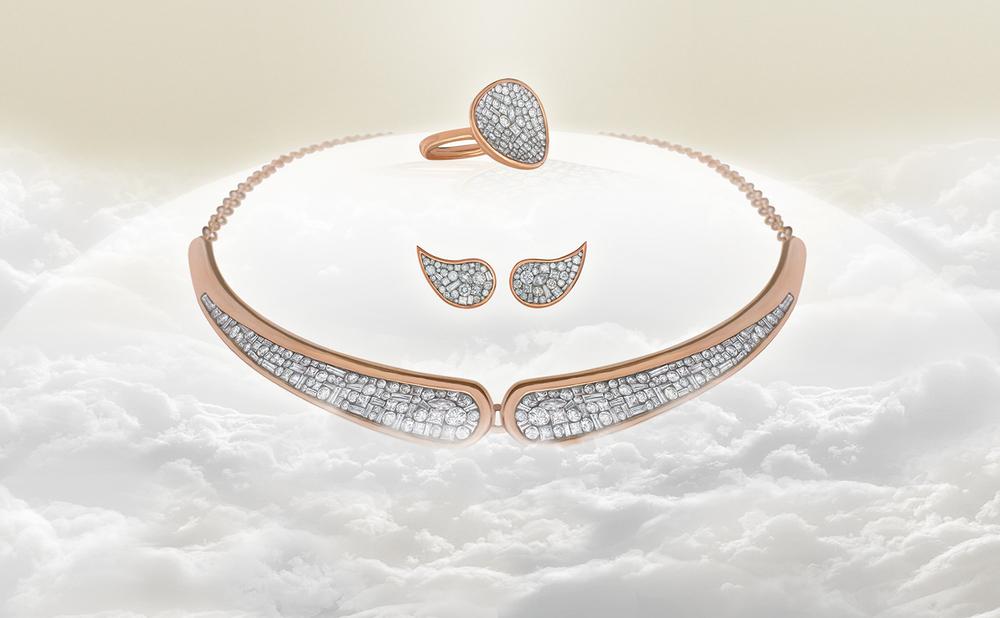 White Diamond Mosaic Jewels