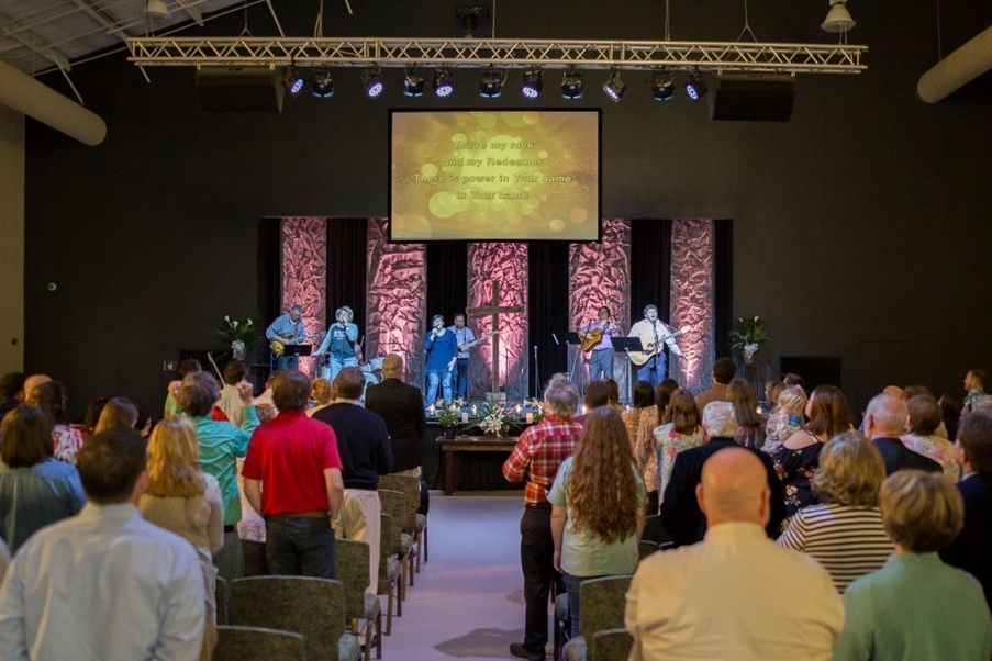 9:30 AM Connections Contemporary Worship - Located at our Family Life Center Campus - 205 Ministry Mountain Drive
