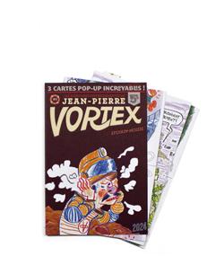 LES AVENTURES DE JEAN-PIERRE VORTEX #1   °  SYLVAIN-MOIZIE