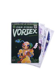 LES AVENTURES DE JEAN-PIERRE VORTEX #2   °  SYLVAIN-MOIZIE